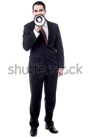 最後 コール 参加者 画像 幸せ 男 ストックフォト © stockyimages