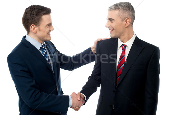 Thank you for your presence. Stock photo © stockyimages