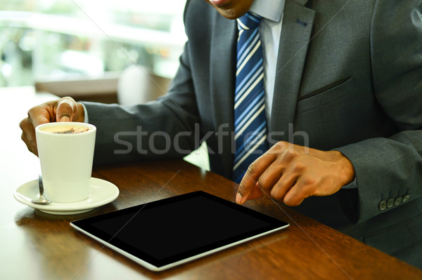 Digital tablet, made my job easy.  Stock photo © stockyimages