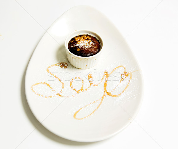 Soya Sauce in a cup Stock photo © stockyimages