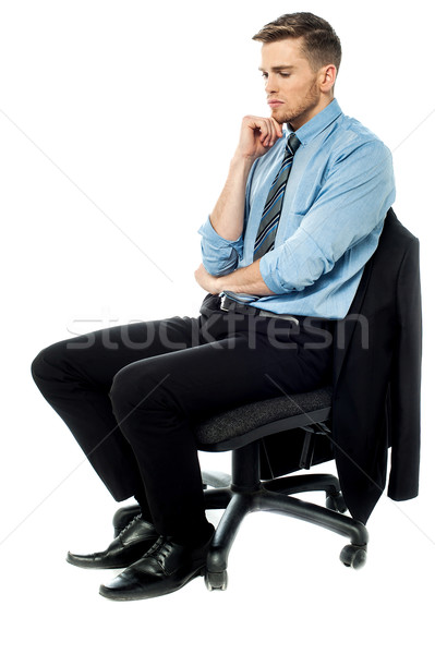 I had a major business loss. Stock photo © stockyimages