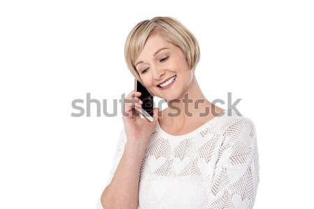 Hi darling, how you doing ? Stock photo © stockyimages