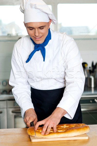 Chef pain pain puce Photo stock © stockyimages