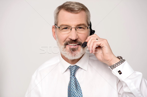 Hello ! May I Help You ? Stock photo © stockyimages