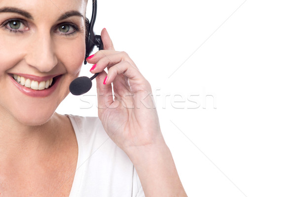 My pleasure to serve you ! Stock photo © stockyimages