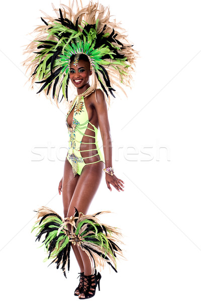One of my best samba costume.  Stock photo © stockyimages