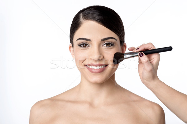 I am almost done with my make over Stock photo © stockyimages