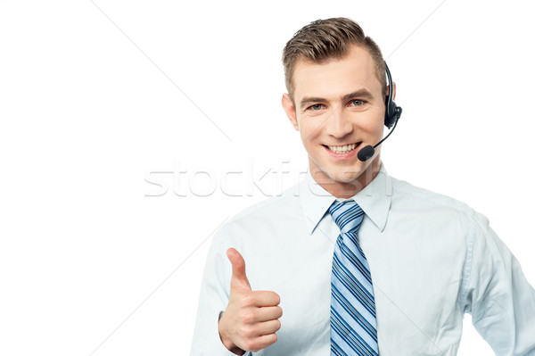 We support your business ! Stock photo © stockyimages