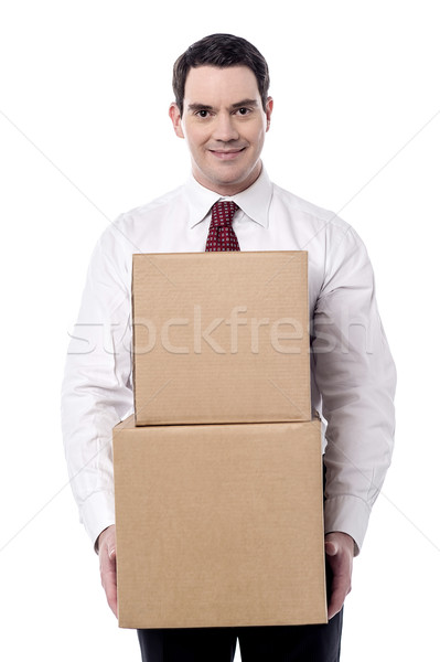 I going to relocate my place. Stock photo © stockyimages