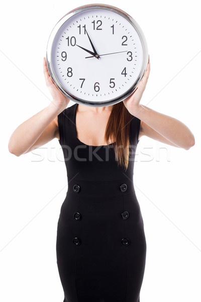 Meeting time will be declared in five minutes Stock photo © stockyimages