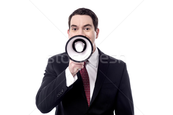 Attention, good news for you all ! Stock photo © stockyimages