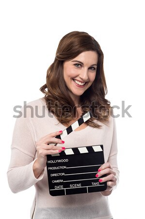 Ready for the new shot ! Stock photo © stockyimages