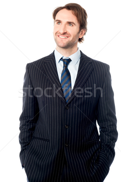 Smartly dressed male business executive  Stock photo © stockyimages