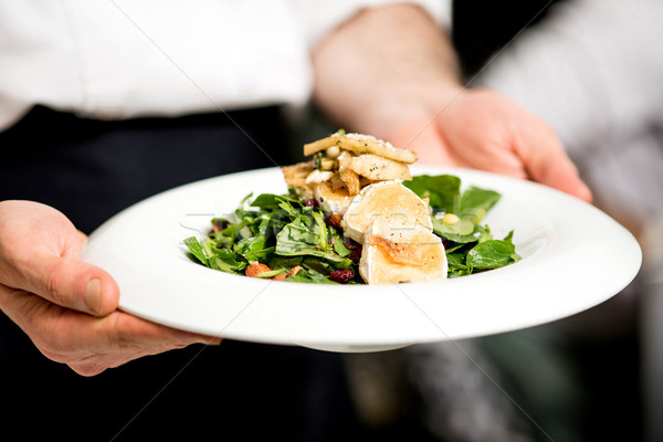 Your salad is ready sir.  Stock photo © stockyimages
