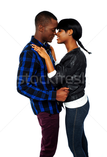Africaine amour femme coeur beauté Photo stock © stockyimages