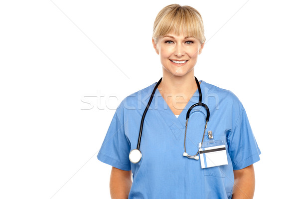 Calm and composed medical expert Stock photo © stockyimages