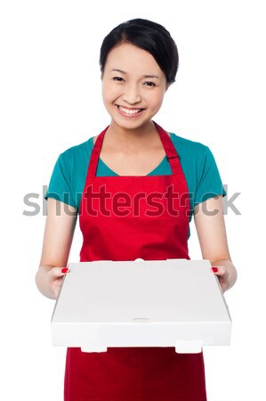 Here is your order sir! Stock photo © stockyimages