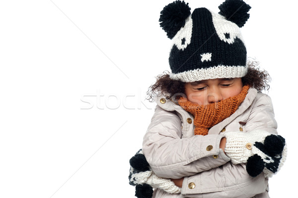 Its freezing out here Stock photo © stockyimages