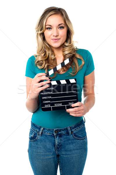 Its showtime. Ready for next shot? Stock photo © stockyimages