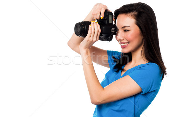 Smile Please, Say Cheese Stock photo © stockyimages