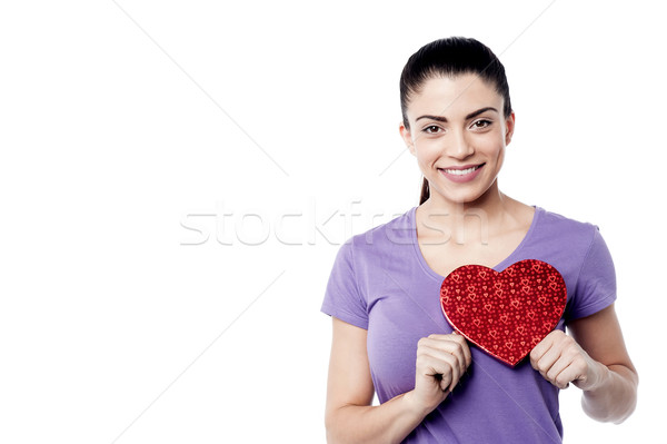 Stock photo: Gift to my darling !