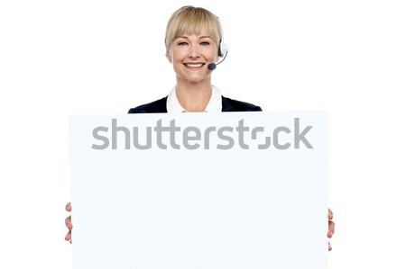 This is the right place to promote your product Stock photo © stockyimages