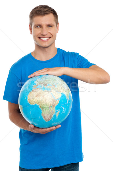 Its time to protect our world Stock photo © stockyimages