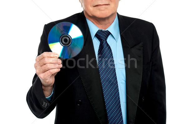 Immagine maschio compatto disco Foto d'archivio © stockyimages