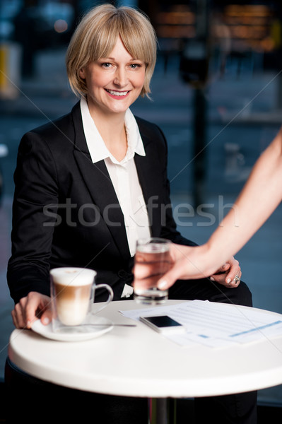 Here is what you ordered ma'am! Stock photo © stockyimages