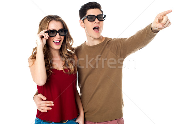 Look at that my sweet dear Stock photo © stockyimages