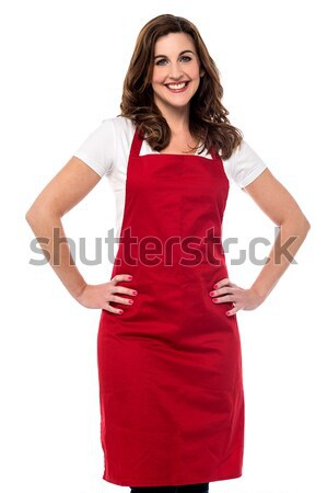 I am here at your service sir ! Stock photo © stockyimages