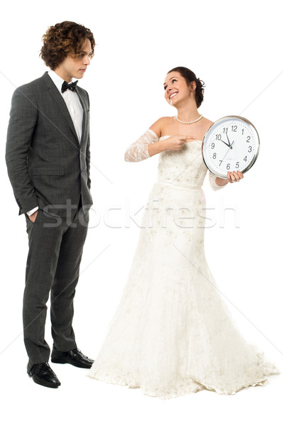 Its the best time, we are getting married. Stock photo © stockyimages