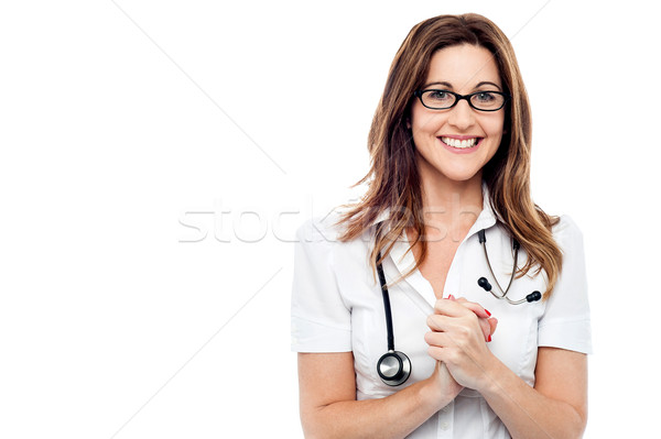 Patient is completely all right.  Stock photo © stockyimages