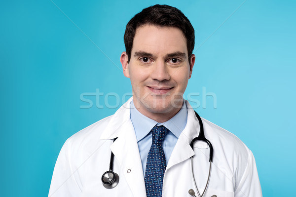 Experienced male doctor posing  Stock photo © stockyimages