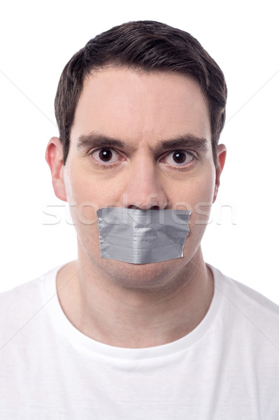 Help me, i was kidnapped.  Stock photo © stockyimages