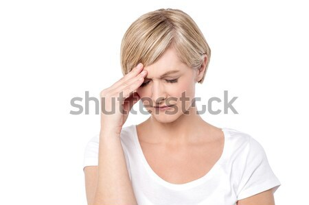 My head, its aching lot Stock photo © stockyimages