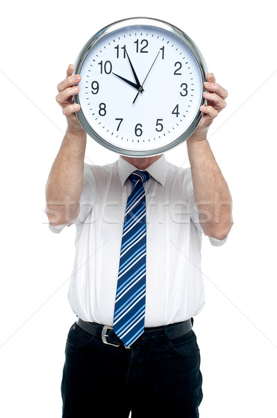 Get ready for the meeting in five minutes! Stock photo © stockyimages