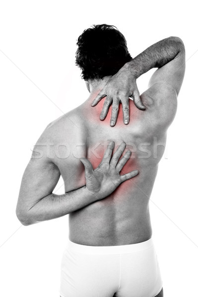Sports injury pain Stock photo © stockyimages