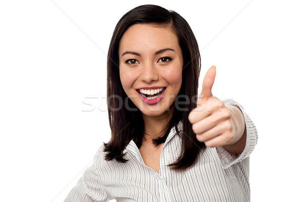 Stock photo: Keep up the great work, team wishes you luck