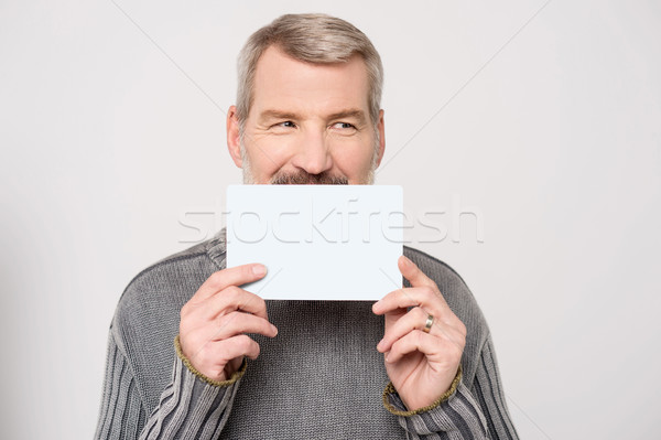 You can add your own text ! Stock photo © stockyimages