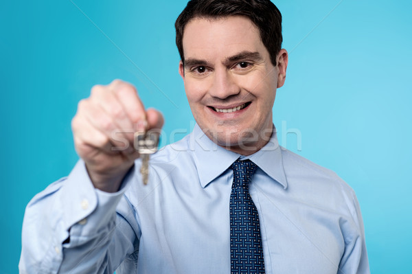 Take the key, it's yours! Stock photo © stockyimages