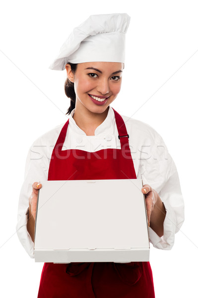 Here is your order sir. Stock photo © stockyimages