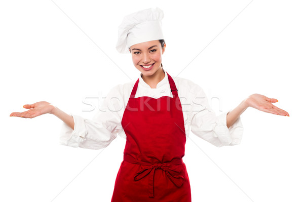 Welcome to my restaurant Stock photo © stockyimages