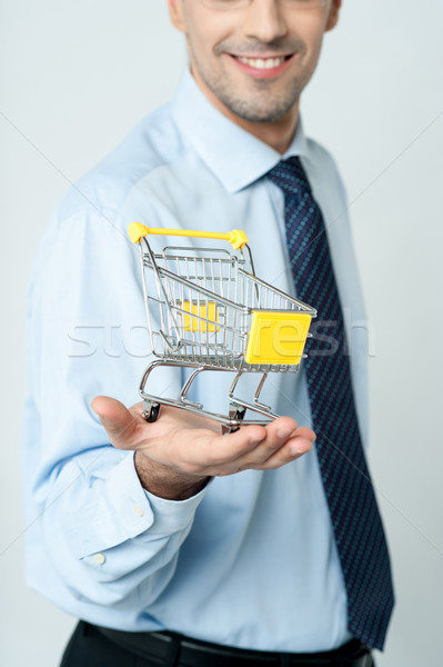 Add to cart, e-commerce concept. Stock photo © stockyimages