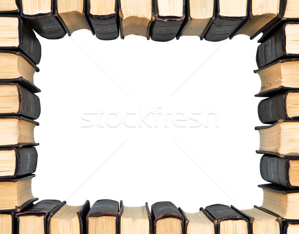 Frame from group books  Stock photo © stokato
