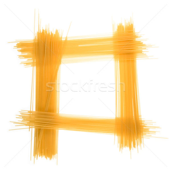 Frame of spaghetti  Stock photo © stokato