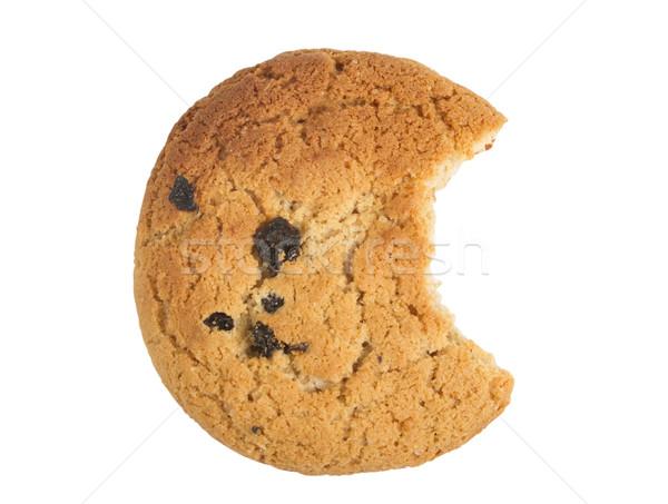 Top view oatmeal cookie with raisins Stock photo © stokato