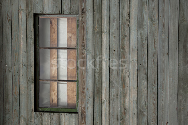 Background of old  wall with window Stock photo © stokato