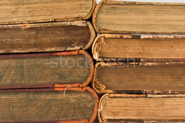 Background of old books Stock photo © stokato