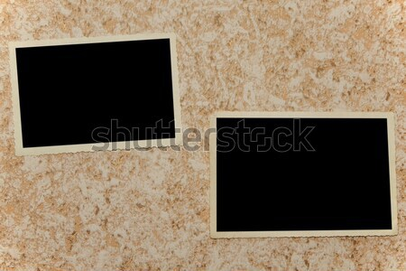 Boş fotoğraf bağbozumu duvar kâğıt Stok fotoğraf © stokato